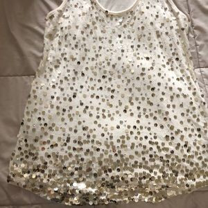 Cute sequin racerback top for a night out